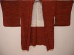 Vintage Japanese silk haori.