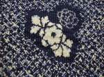 Vintage silk Japanese textiles.