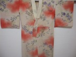 Japanese vintage kimono slip, nagajuban.