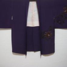 Vintage Japanese kimono and haori (2)