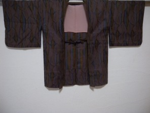 Japanese used silk haori.