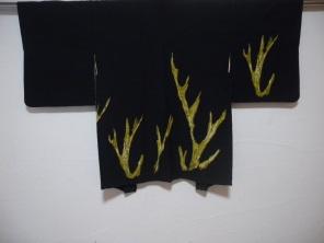 Japanese silk haori.